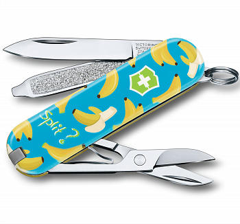 "Нож-брелок Victorinox Classic Limited Edition ""Banana Split"" 0.6223.L1908"